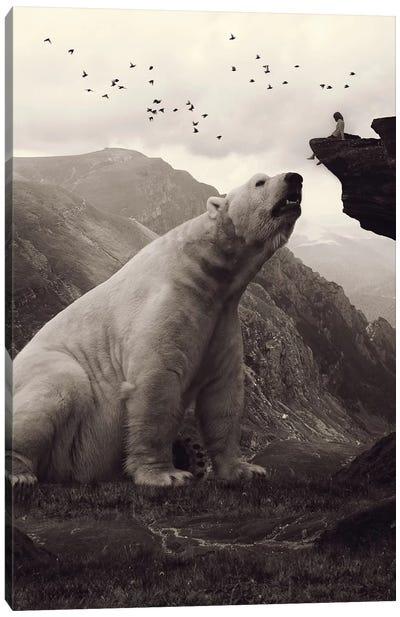 Tutelary - Polar Bear Canvas Art Print