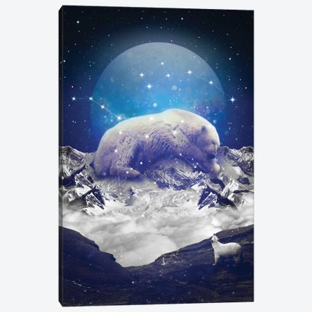 Ursa Major Minor II Canvas Print #SOA78} by Soaring Anchor Designs Canvas Art Print