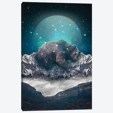 Ursa Major Minor I Canvas Print #SOA79} by Soaring Anchor Designs Canvas Print