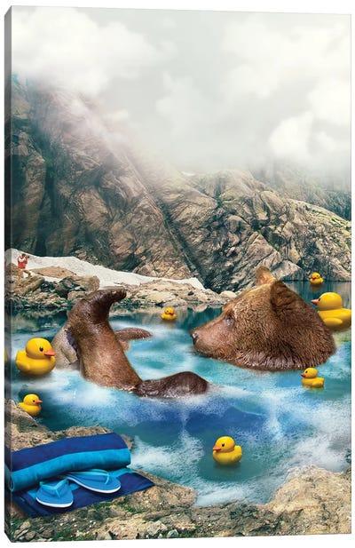 Bear Neccessities Canvas Art Print