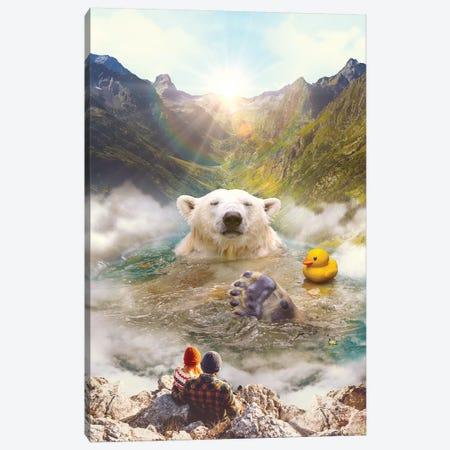 Bear Necessities 3-Piece Canvas #SOA9} by Soaring Anchor Designs Canvas Wall Art