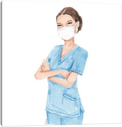 Healthcare Professional Canvas Art Print