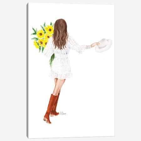 Sun Flowers Canvas Print #SOB74} by Style of Brush Canvas Art Print