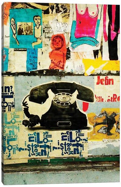 Ring My Bell Canvas Art Print