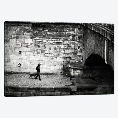 Lost in Paris Canvas Print #SOE27} by Sophie Etchart Canvas Print