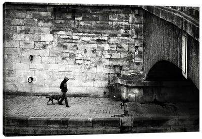 Lost in Paris Canvas Art Print