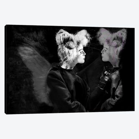 Twins Canvas Print #SOE32} by Sophie Etchart Art Print