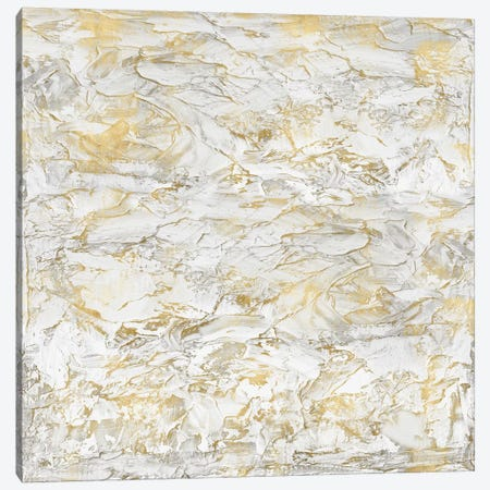 Textural With Gold II Canvas Print #SOF2} by Sofia Gordon Canvas Art Print