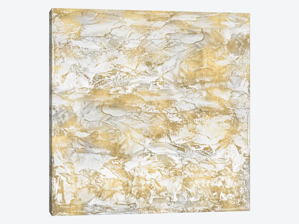 Textural With Gold III by Sofia Gordon 1-piece Canvas Artwork