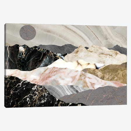 Marble Mountains Canvas Print #SOI49} by Sophie 6 Canvas Artwork