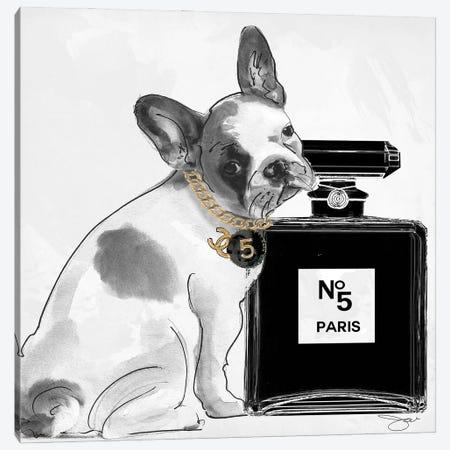 Dog V Canvas Print #SOJ117} by Studio One Canvas Art