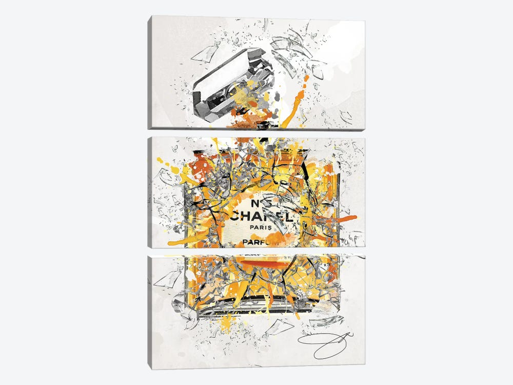 Enough Already by Studio One 3-piece Canvas Print