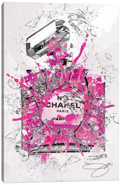 Enough Already Pink Canvas Art Print
