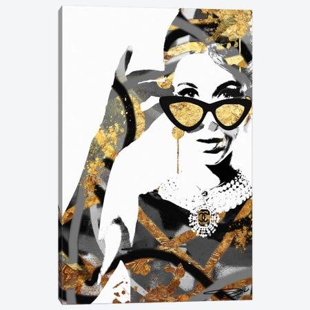 Excuse Me Canvas Print #SOJ14} by Studio One Canvas Print