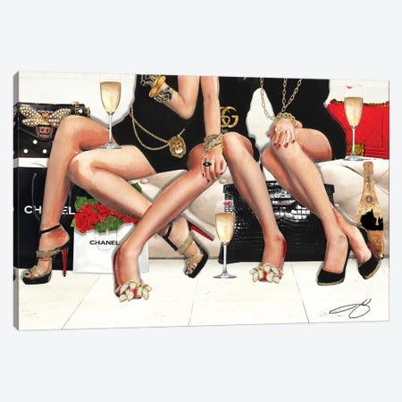 Girls Night Canvas Print #SOJ16} by Studio One Art Print