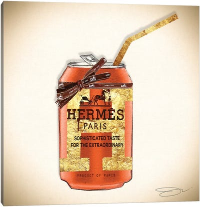 Hermes Can Canvas Art Print