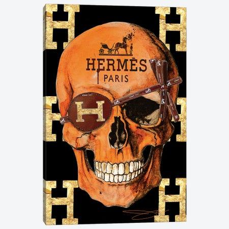 Hermes Skull Canvas Print #SOJ21} by Studio One Canvas Print