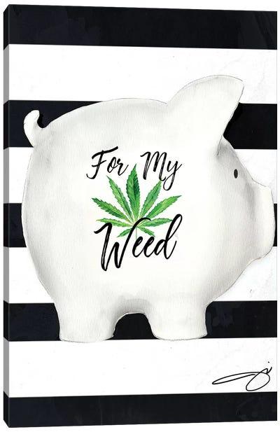 Weed Fund Canvas Art Print