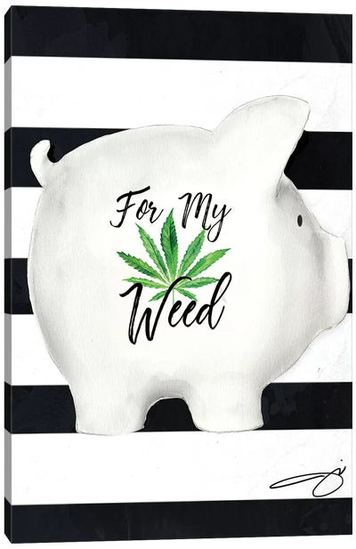 Weed Fund Canvas Art Print