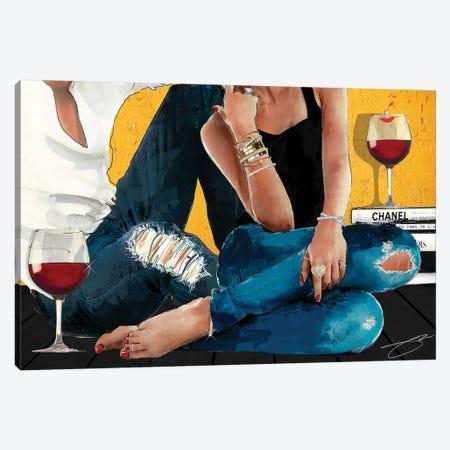 Chill Canvas Print #SOJ31} by Studio One Canvas Artwork