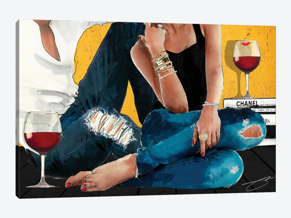 Chill by Studio One 1-piece Canvas Art Print