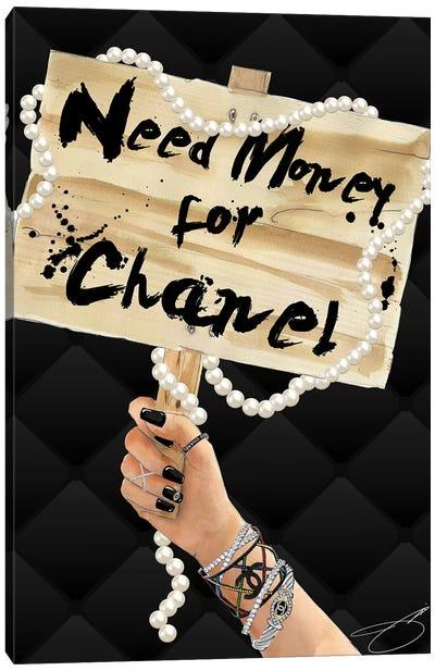 Need Chanel Canvas Art Print