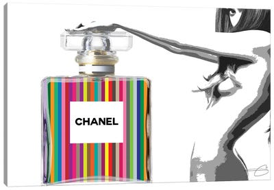 Nothing But Chanel Canvas Art Print