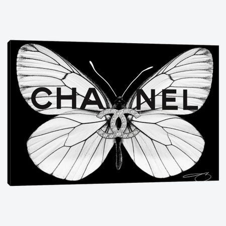Fly As Chanel Canvas Print #SOJ46} by Studio One Canvas Art
