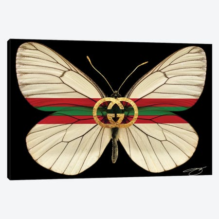 Fly As Gucci Canvas Print #SOJ48} by Studio One Canvas Art Print