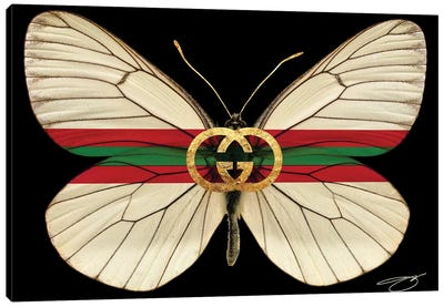 Fly As Gucci Canvas Art Print