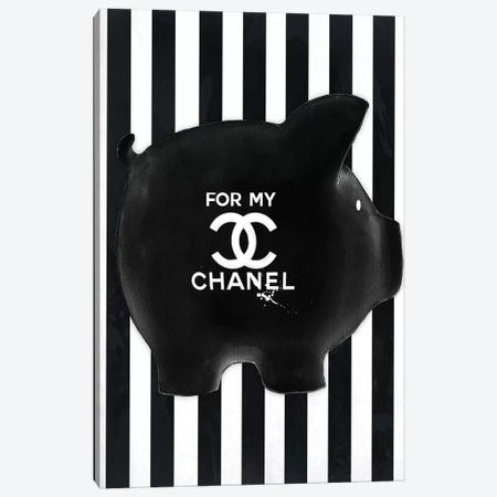 Chanel Fund Canvas Print #SOJ4} by Studio One by Jodi Canvas Wall Art