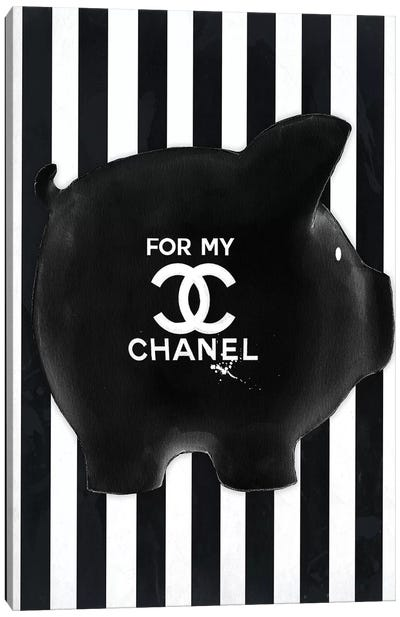 Chanel Fund Canvas Art Print