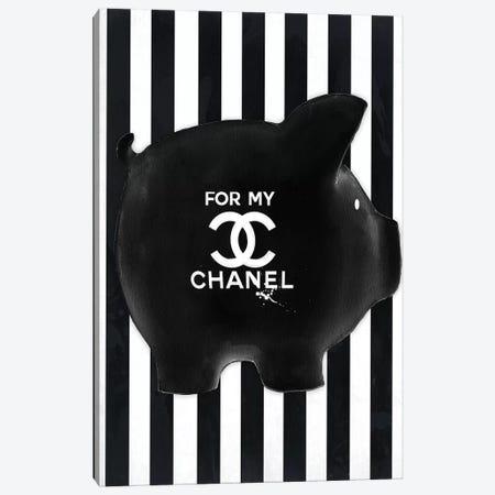 Chanel Fund Canvas Print #SOJ4} by Studio One Canvas Wall Art