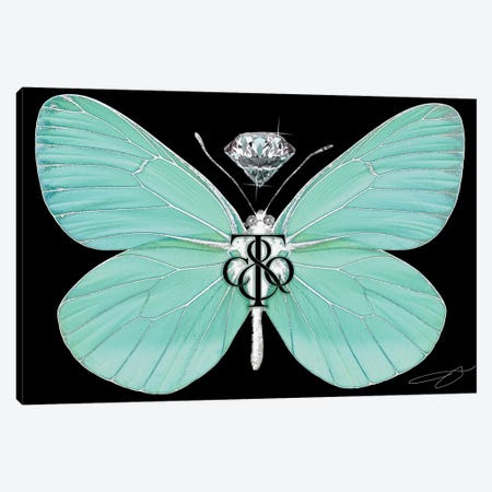 Fly As Tiffany Canvas Print #SOJ50} by Studio One Canvas Wall Art