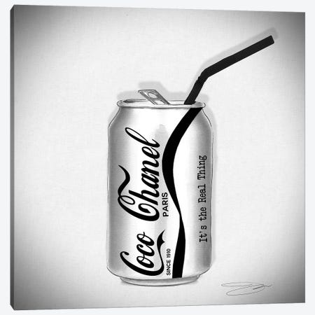 Coco Cola Canvas Print #SOJ6} by Studio One Canvas Wall Art