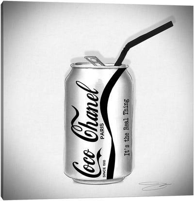Coco Cola Canvas Art Print