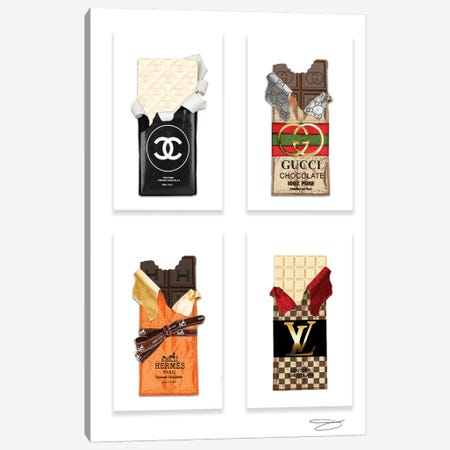 Couture Cravings 3-Piece Canvas #SOJ75} by Studio One Canvas Print