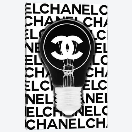 Chanel Is A Good Idea Canvas Print #SOJ79} by Studio One Canvas Wall Art