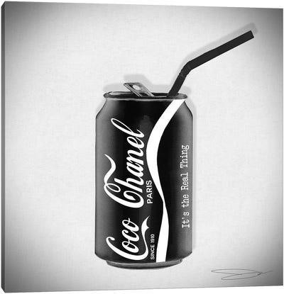Coco Cola Classic Canvas Art Print
