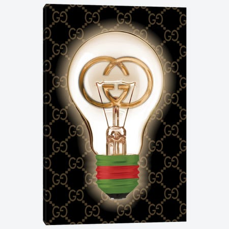 Gucci Is A Good Idea 3-Piece Canvas #SOJ80} by Studio One Canvas Art Print