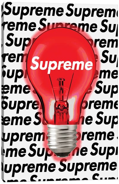 Supreme Idea Canvas Art Print