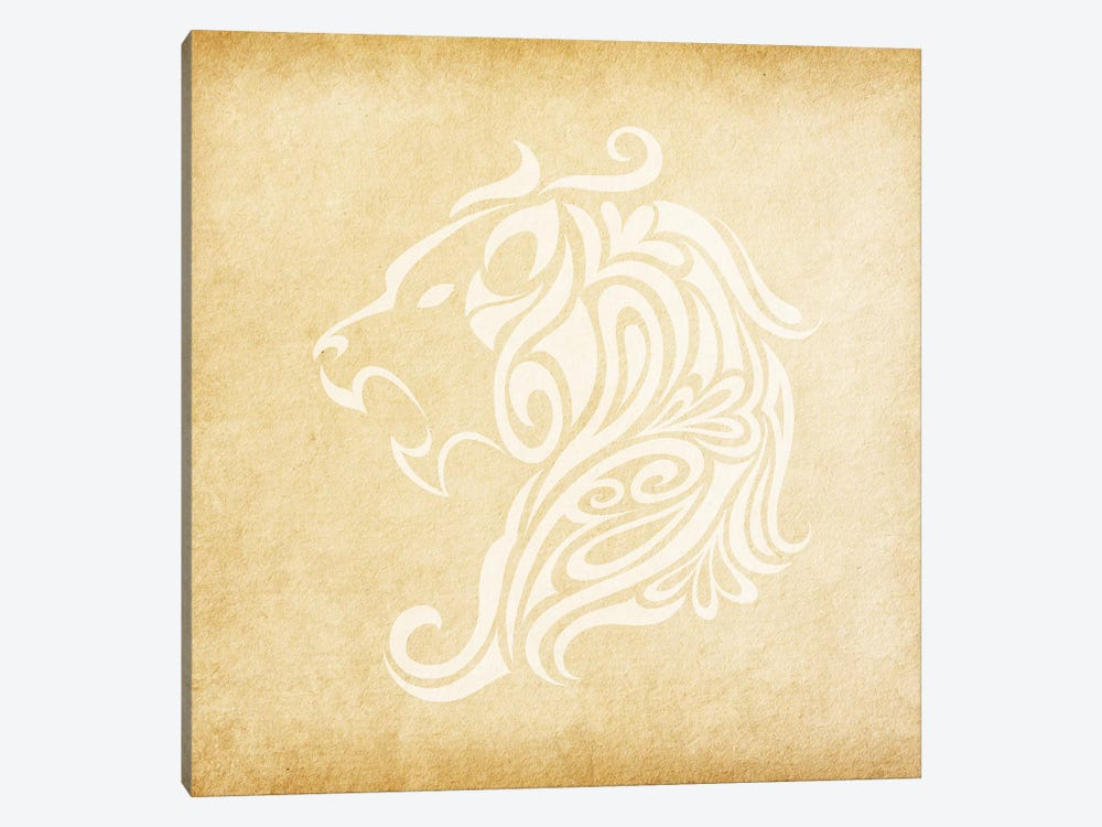 Influential Lion by 5by5collective 1-piece Canvas Art