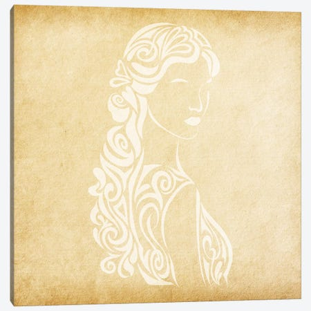 Meticulous Maiden Canvas Print #SOL14} by 5by5collective Art Print