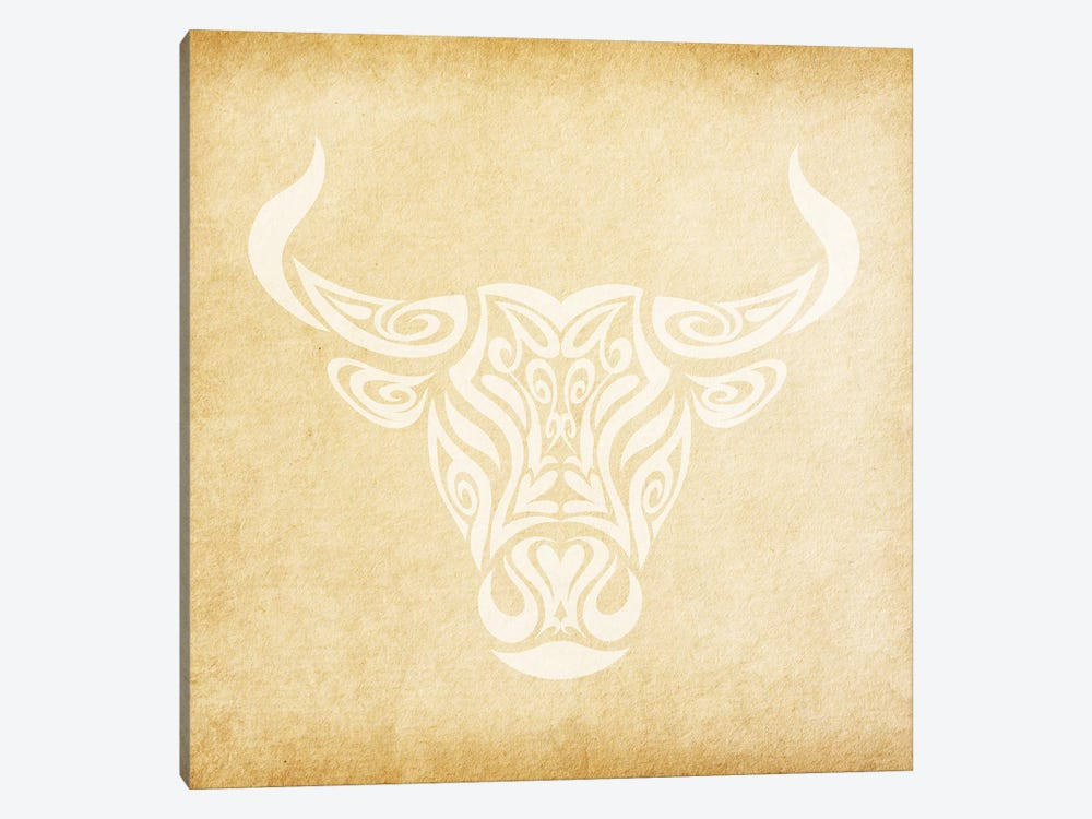 Reliable Bull by 5by5collective 1-piece Canvas Art