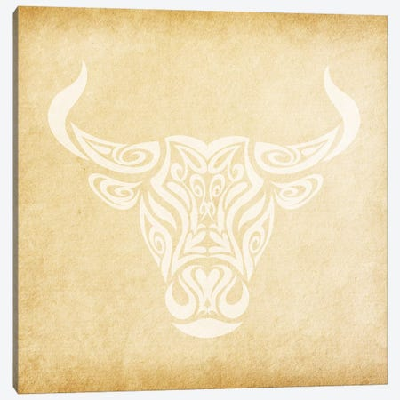 Reliable Bull Canvas Print #SOL18} by 5by5collective Canvas Art