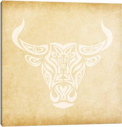 Reliable Bull Canvas Art Print