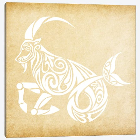 Trustworthy Sea-Goat Canvas Print #SOL20} by 5by5collective Canvas Print
