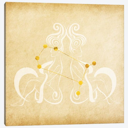 Versatile Twins with Constellation Canvas Print #SOL21} by 5by5collective Canvas Art Print