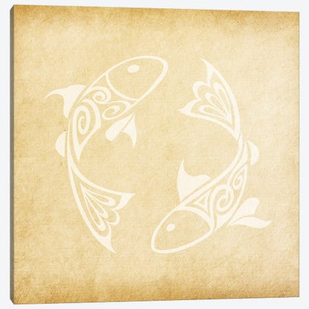 Imaginative Fish Canvas Print #SOL8} by 5by5collective Art Print