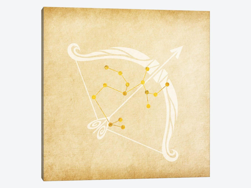 Independent Archer with Constellation by 5by5collective 1-piece Canvas Wall Art